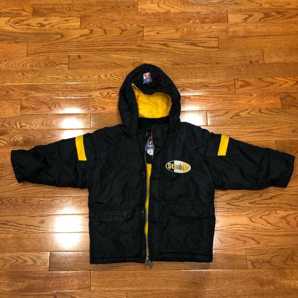 new arrival bb39c 1097d Pittsburgh Steelers Jacket Kids